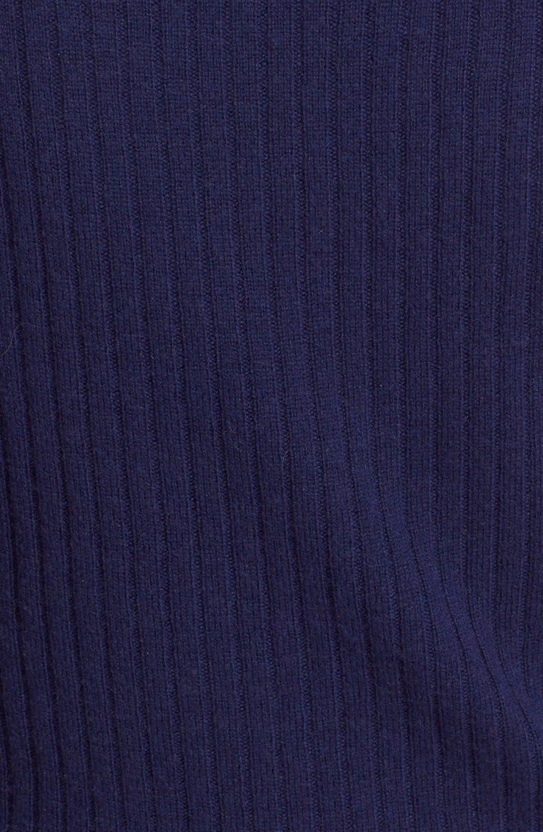 Alternate Image 5  - Alice + Olivia 'Hailee' Cowl Neck Blouson Sweater Dress