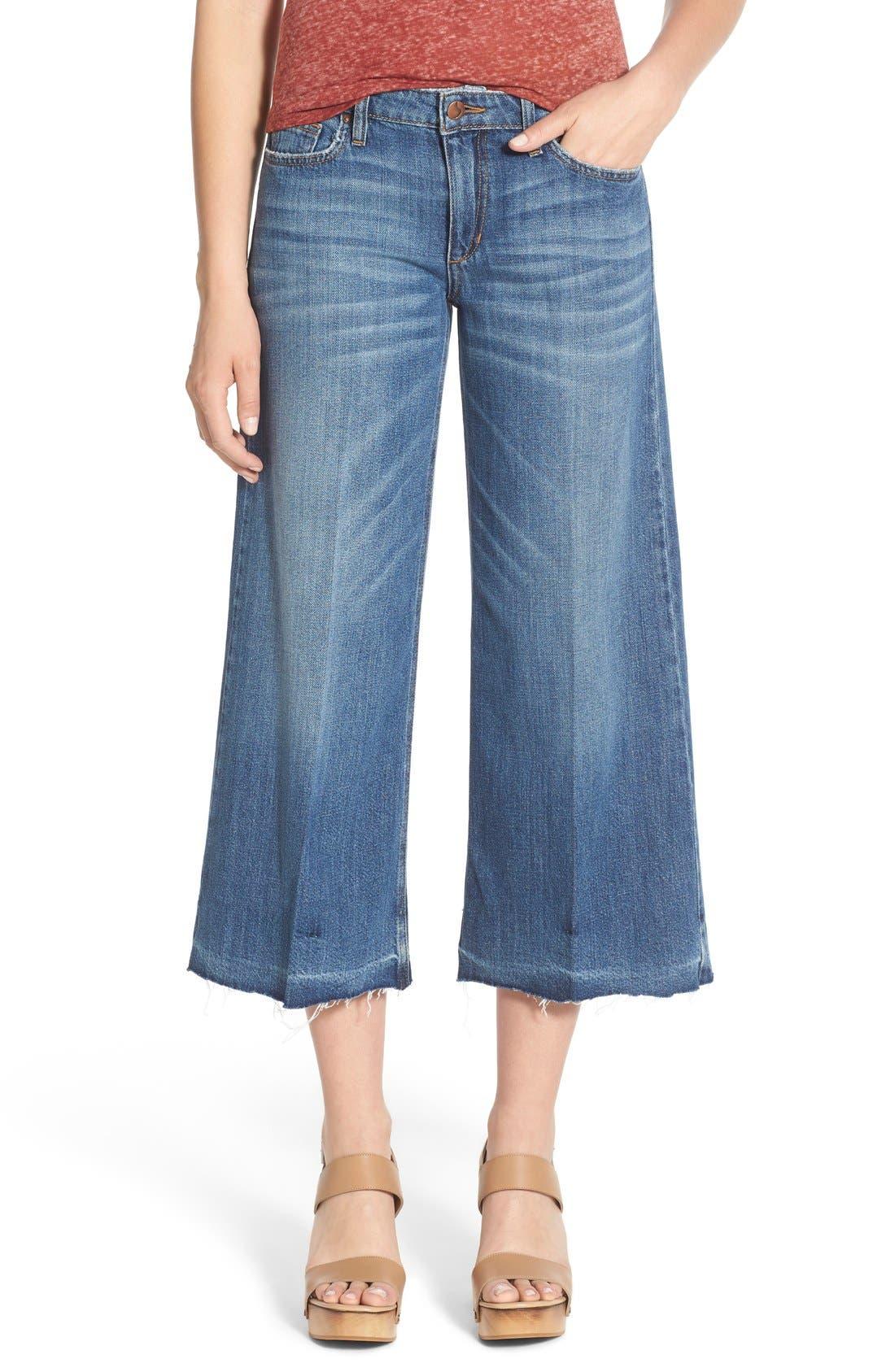 Alternate Image 1 Selected - Joe's 'The Gaucho' Crop Flare Jeans (Edie)
