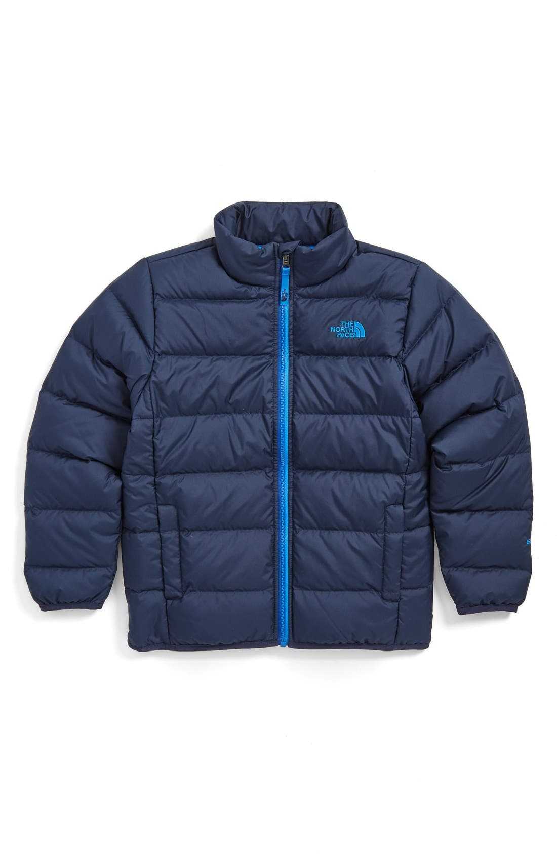 Main Image - The North Face 'Andes' Water Resistant 550-Fill Compressible Down Jacket (Big Boys)