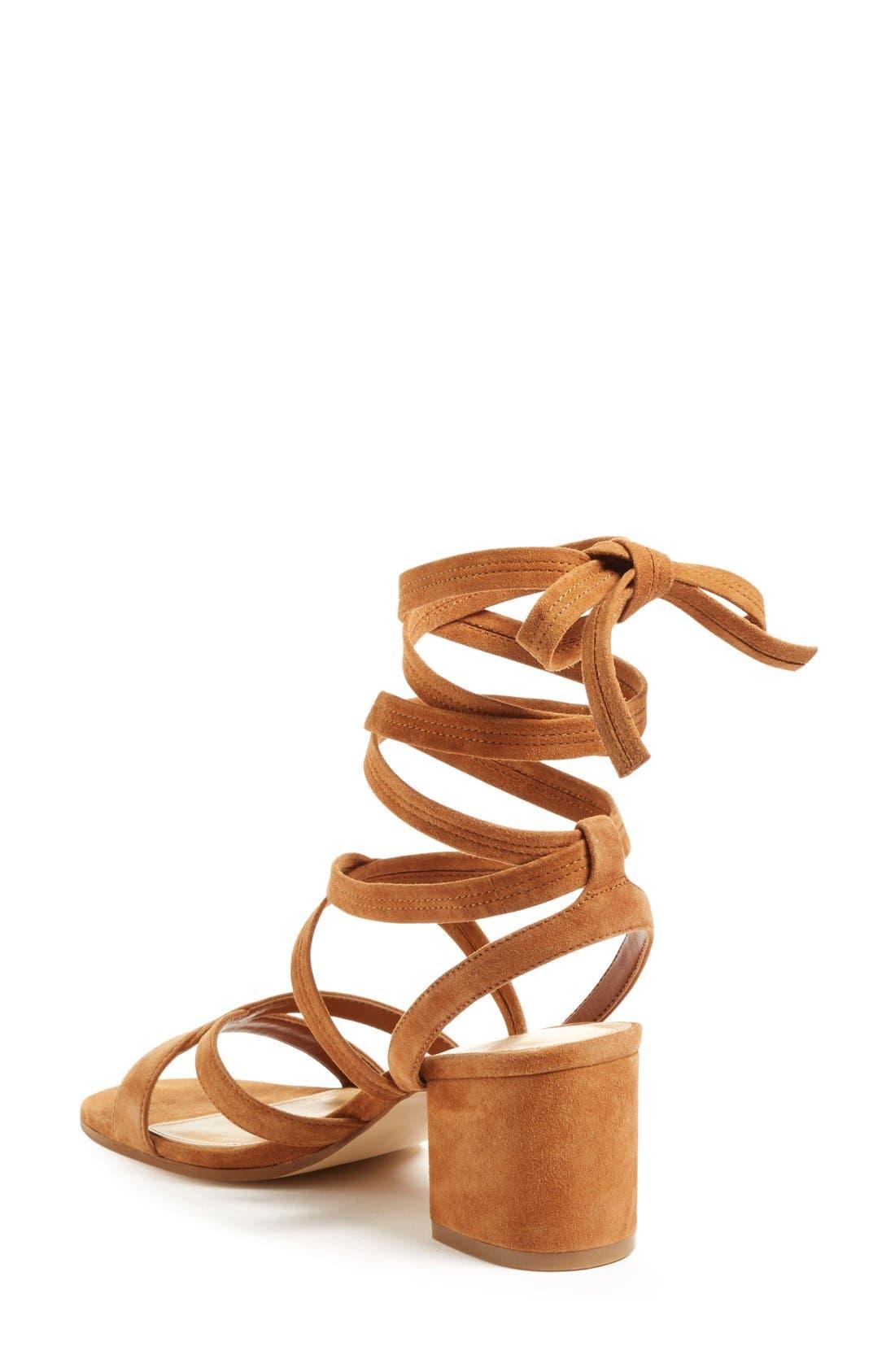 Alternate Image 2  - Ivanka Trump 'Ellyn' Lace-Up Sandal (Women)