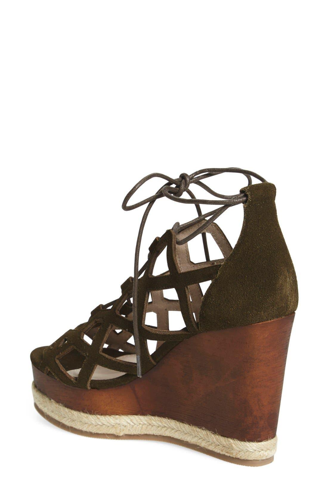 Alternate Image 2  - Shellys London 'Emerald' Wedge Sandal (Women)