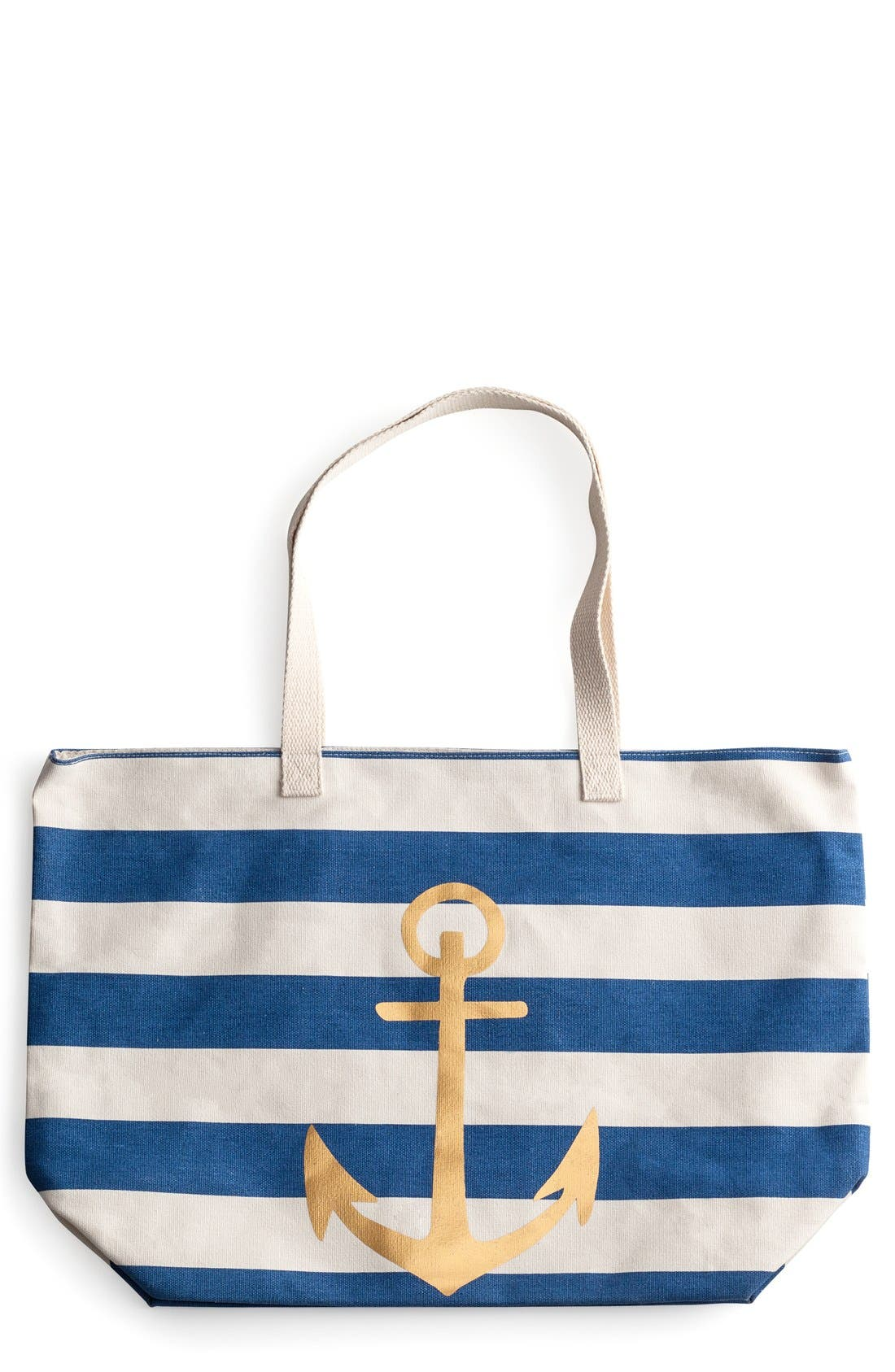 Alternate Image 1 Selected - Rosanna 'Anchor Stripe' Tote