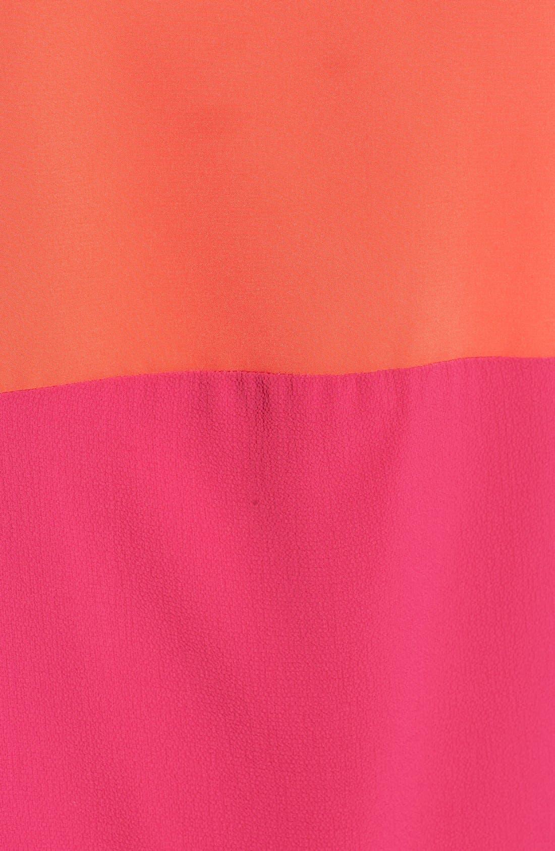 Alternate Image 5  - Mimi Chica Colorblock Racerback Tank Dress