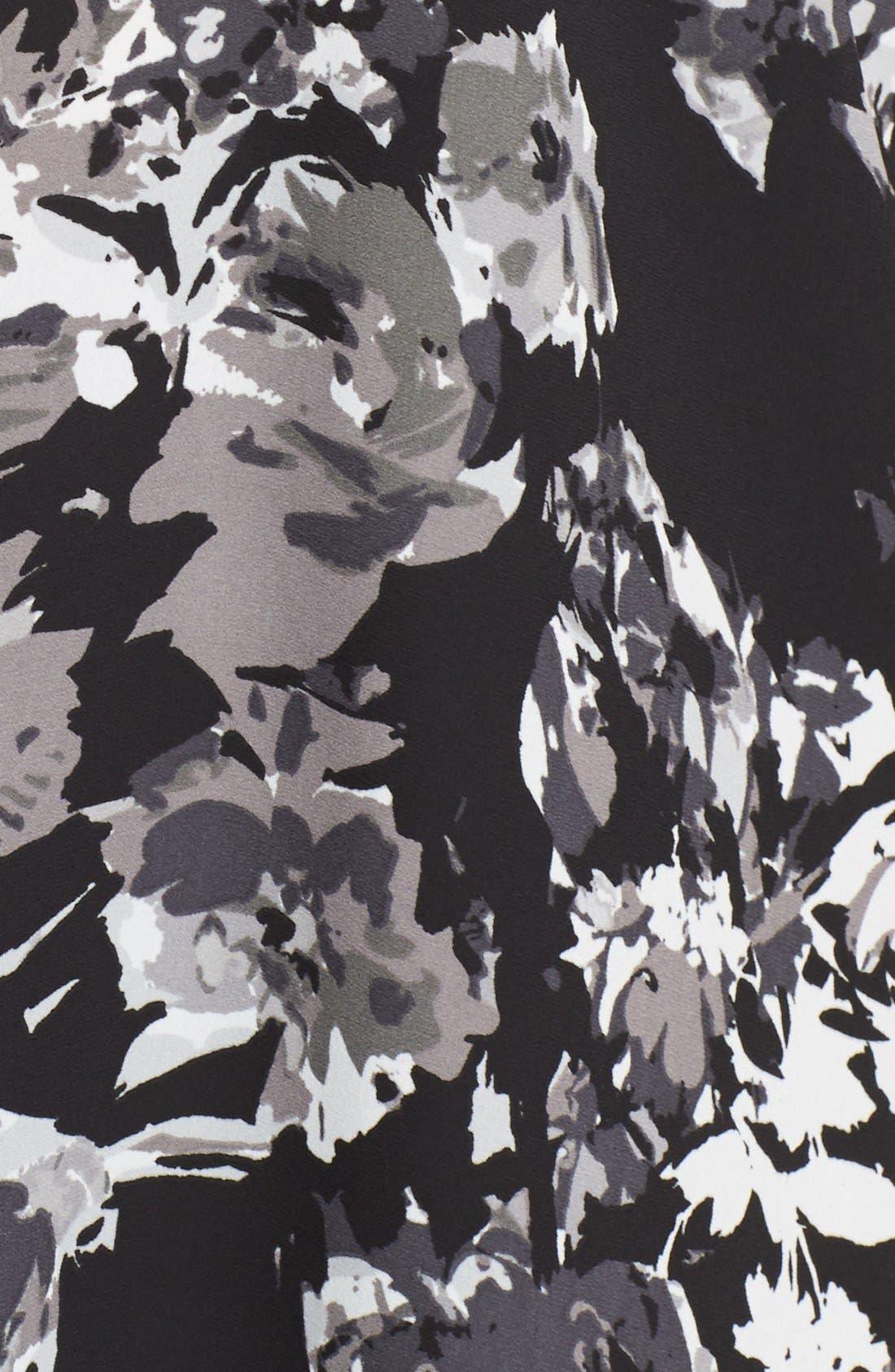 Alternate Image 5  - Sejour Crepe Georgette Henley Tunic (Plus Size)