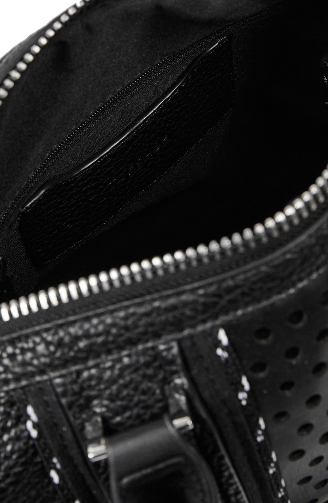 Alternate Image 4  - Topshop 'Tokyo' Sporty Faux Leather Bowler Satchel