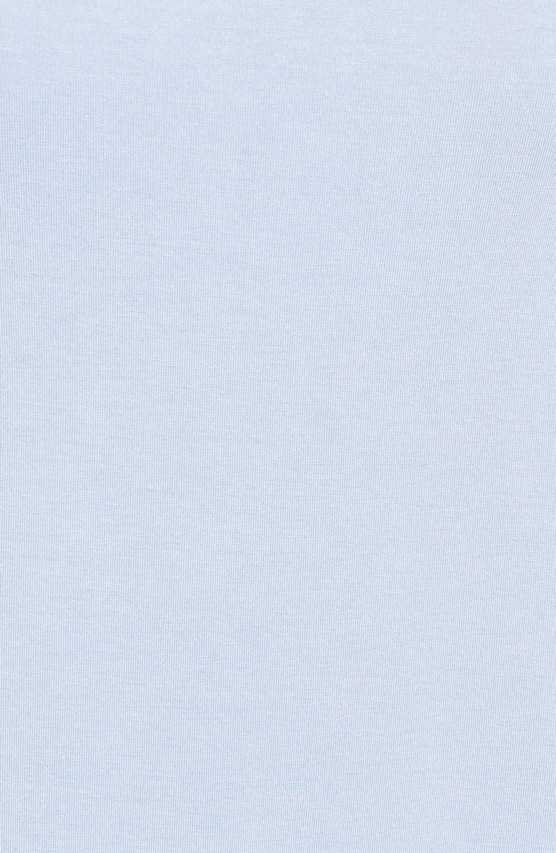 Alternate Image 5  - Halogen® Short Sleeve Shirttail Tee (Regular & Petite)