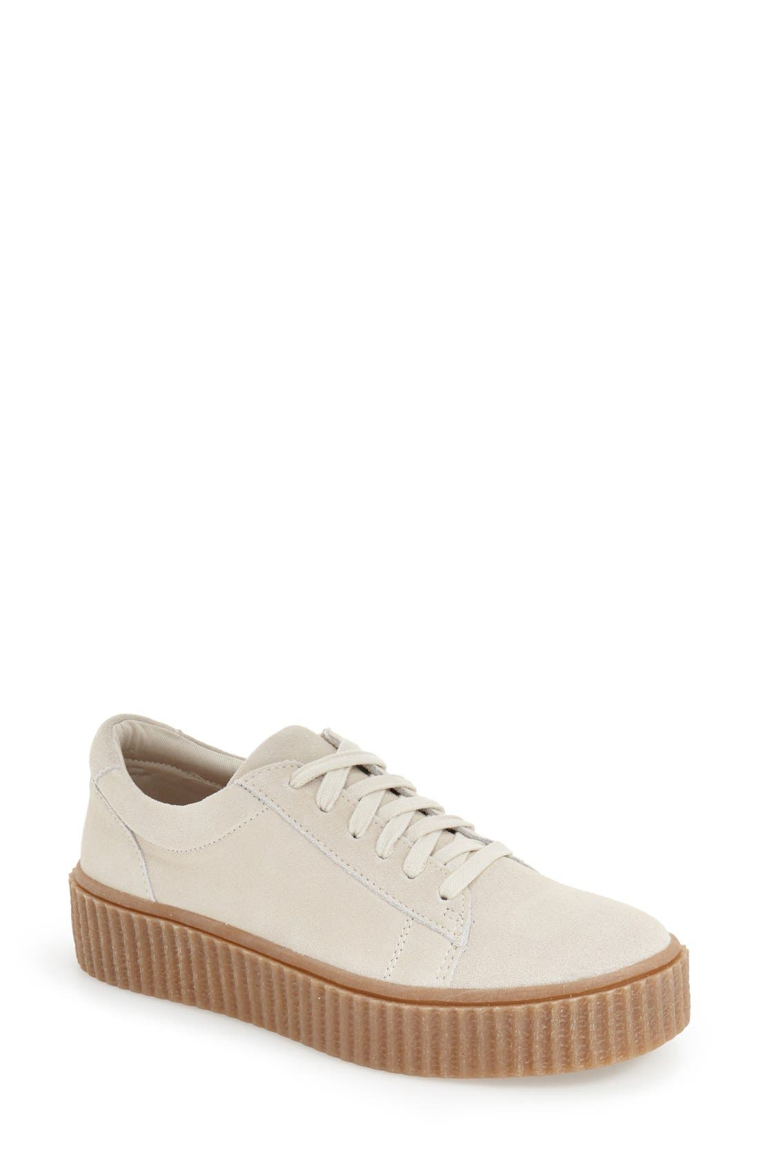 Alternate Image 1 Selected - Steve Madden 'Holllly' Platform Sneaker (Women)