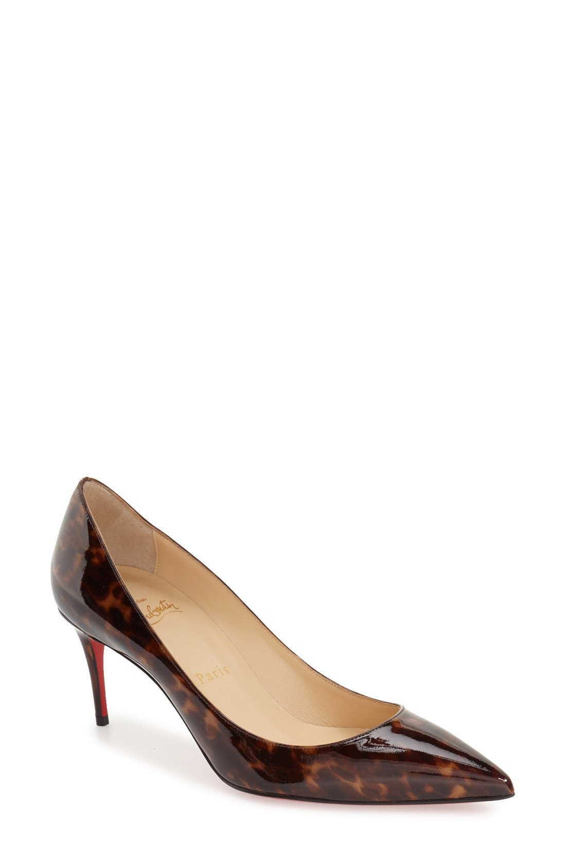 Christian Louboutin 'Decollete 554' Pointy Toe Pump (Women)