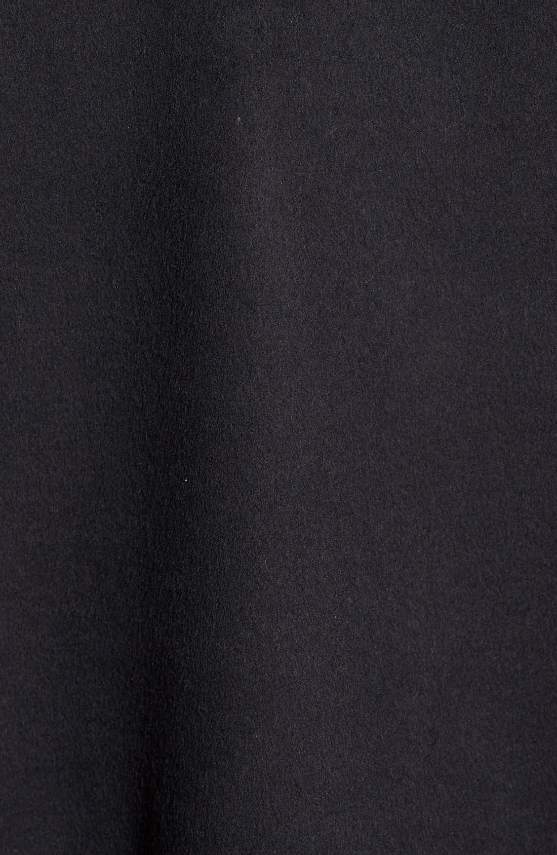 Alternate Image 5  - Elie Tahari Whipstitch Wool Blend Wrap Coat