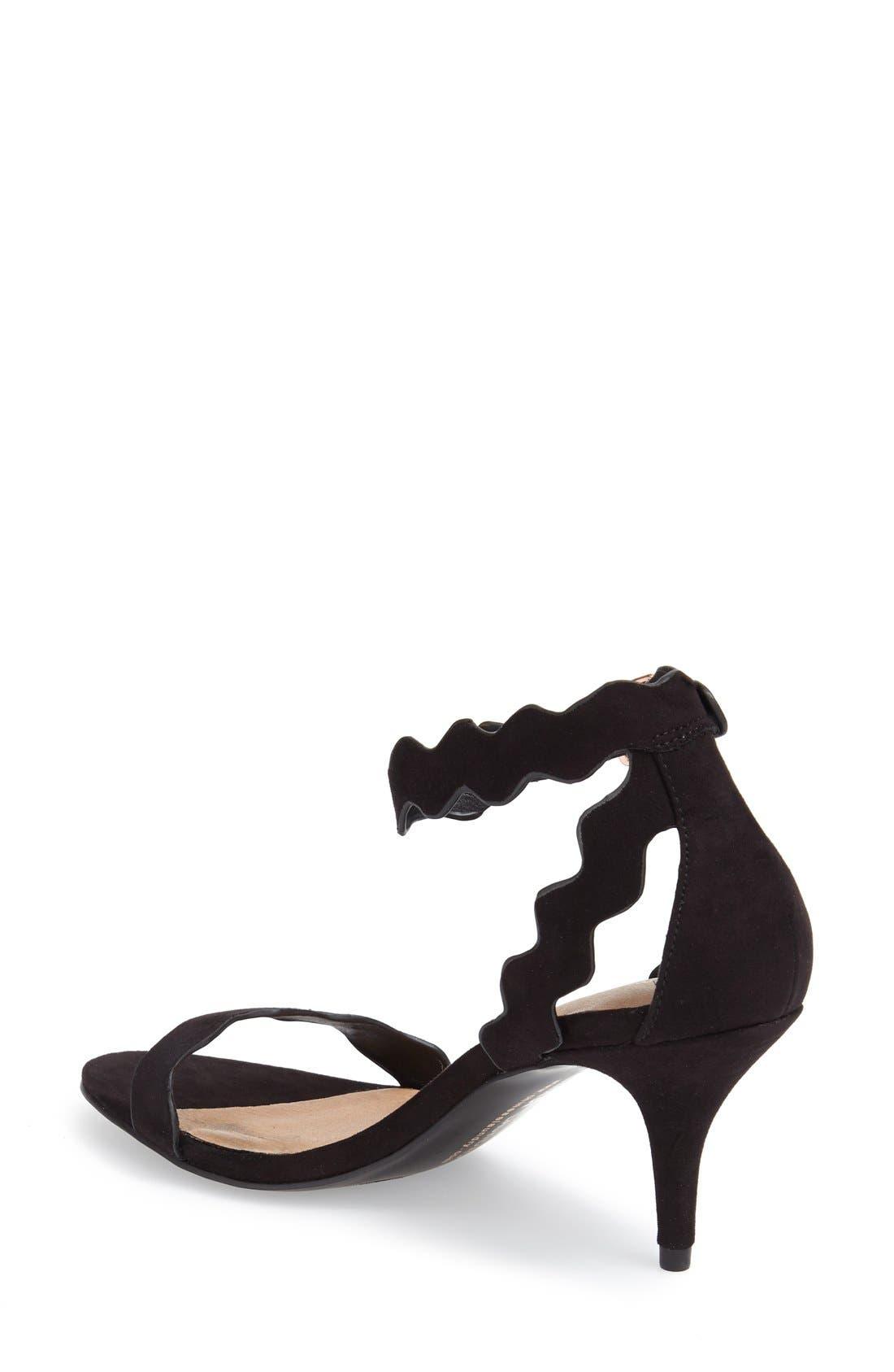 Alternate Image 2  - Chinese Laundry 'Rubie' Scalloped Ankle Strap Sandal (Women)