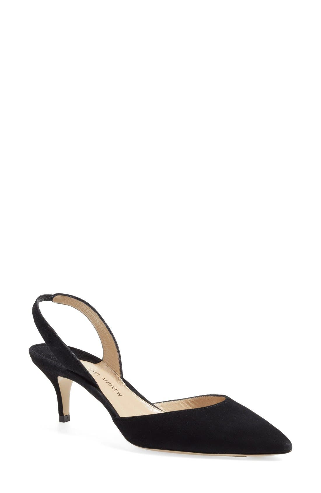 Paul Andrew 'Rhea' Slingback Pump (Women)