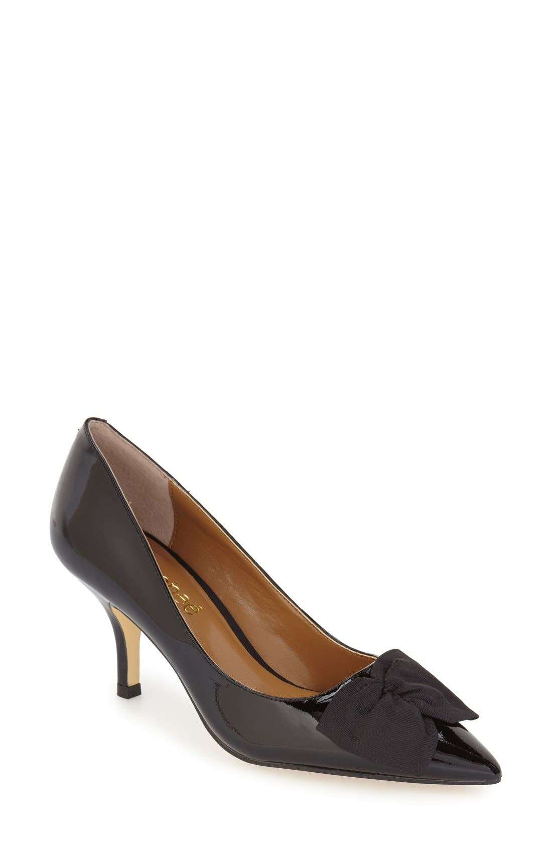 Alternate Image 1 Selected - J. Reneé 'Camley' Pointy Toe Bow Pump (Women)