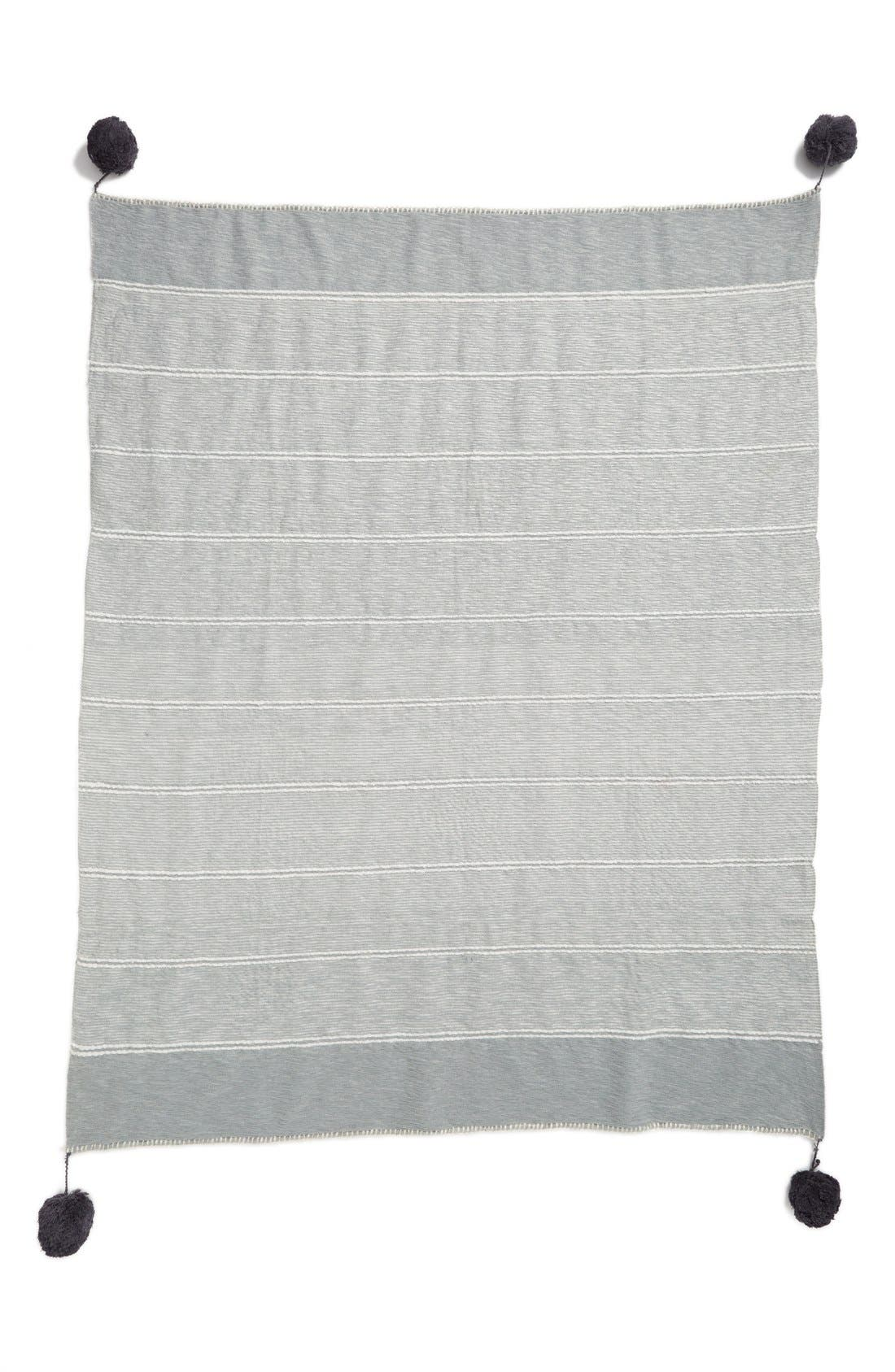 Alternate Image 2  - Nordstrom at Home 'Feather Stripe' Throw Blanket