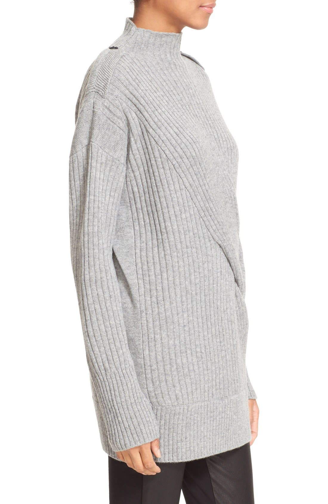 Alternate Image 3  - rag & bone 'Dale' Merino Wool Turtleneck Sweater