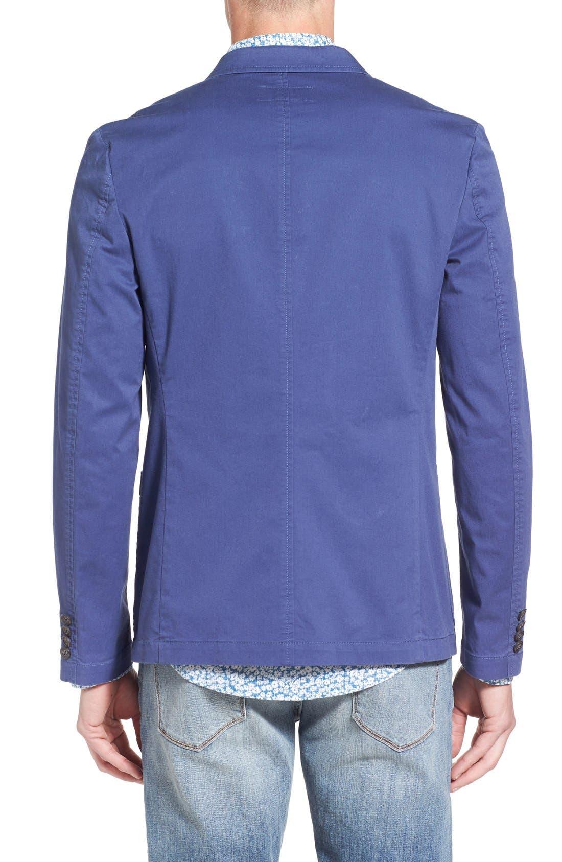 Alternate Image 2  - Original Penguin Stretch Cotton Blazer