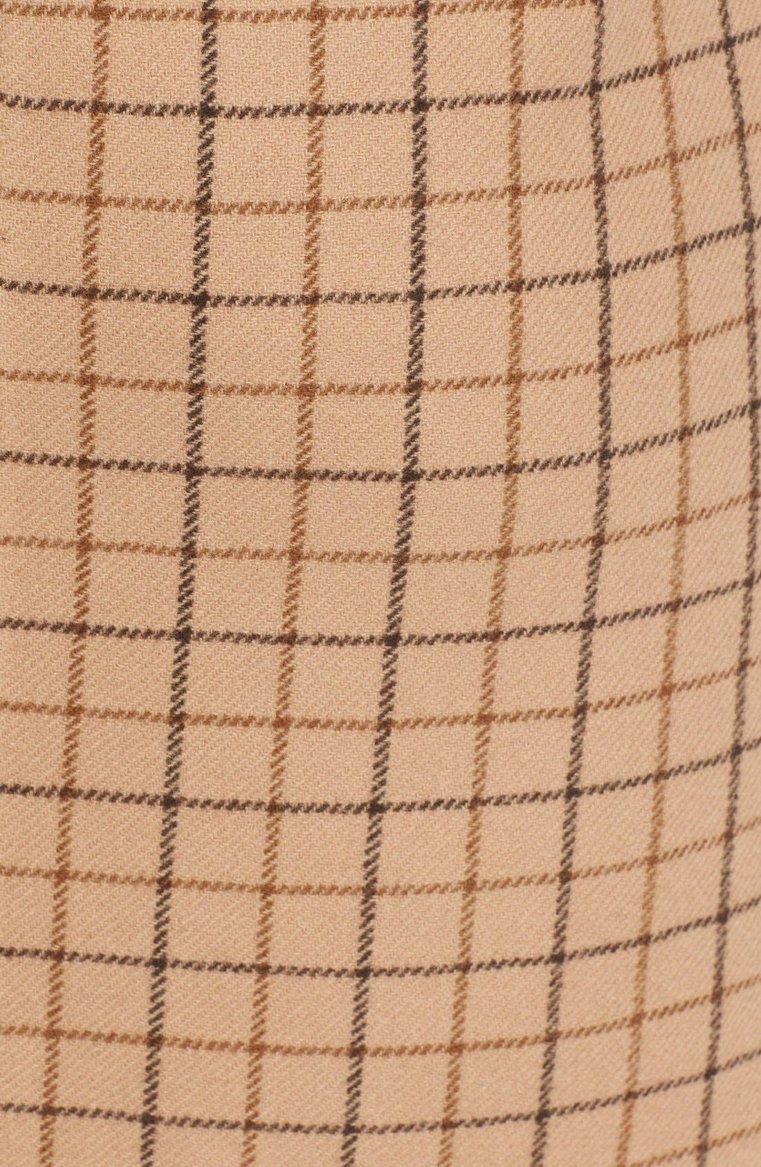 Alternate Image 3  - Michael Kors Plaid Wool A-Line Skirt