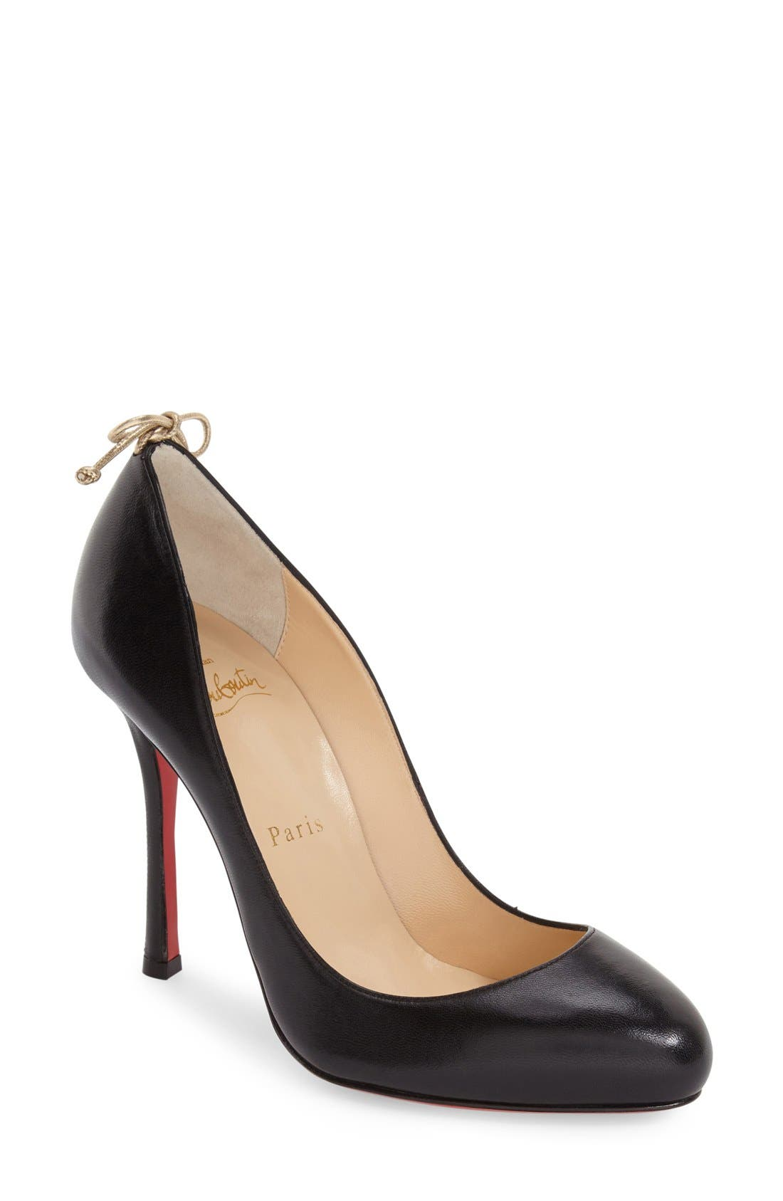 Alternate Image 1 Selected - Christian Louboutin 'Very Gemma' Bow Pump