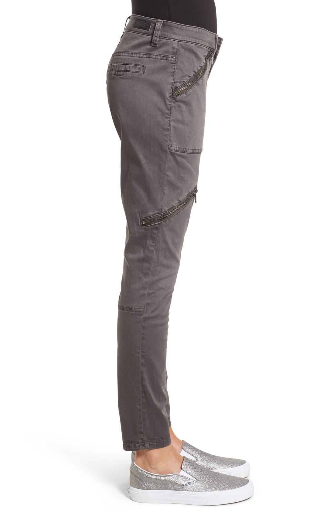 Alternate Image 3  - BLANKNYC Moto Utility Pants