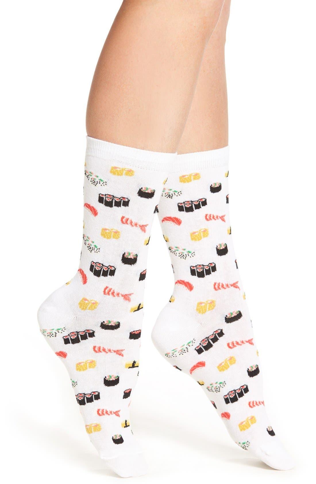Hot Sox 'Sushi' Crew Socks