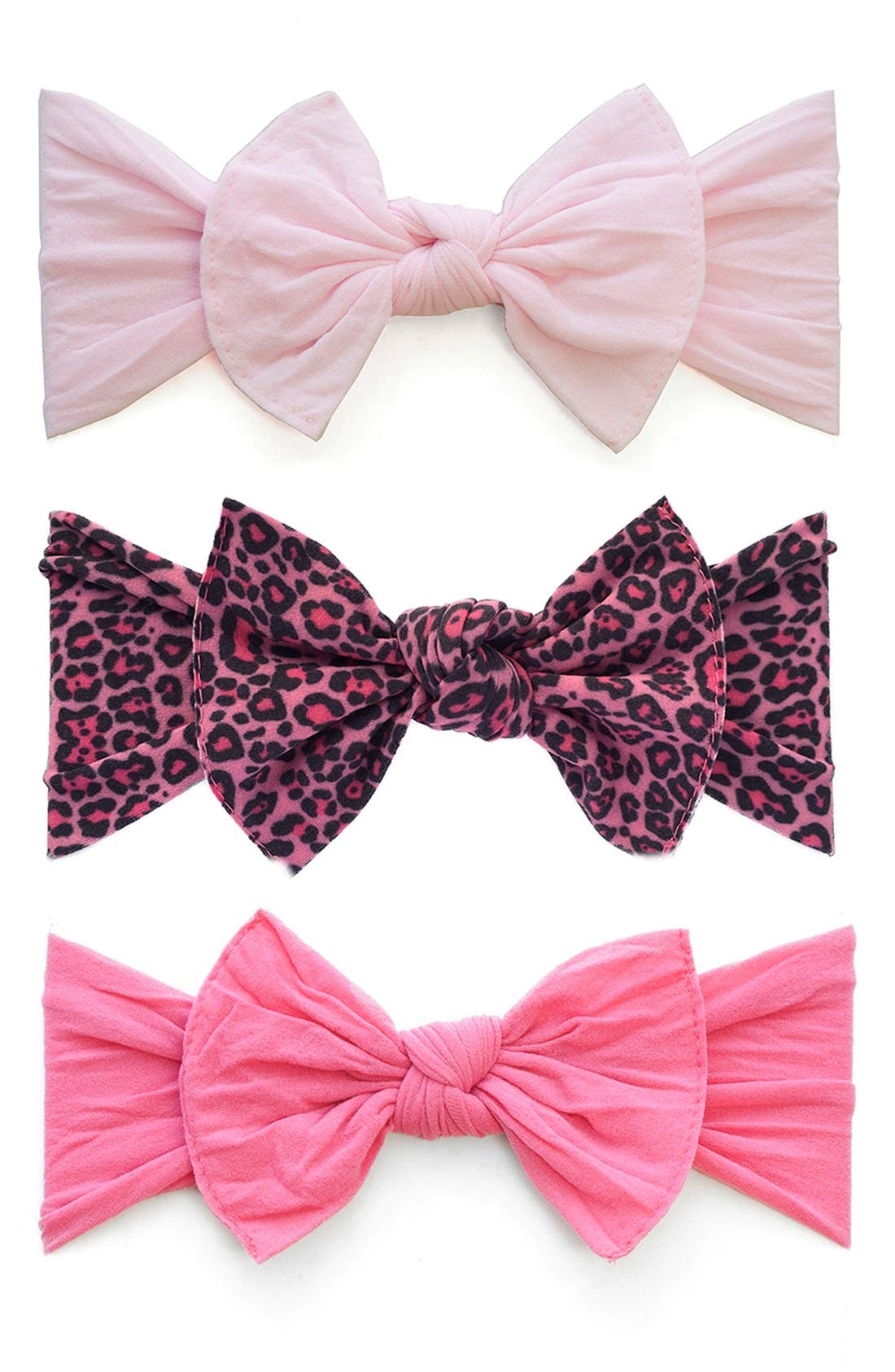 Baby Bling Bow Stretch Headband (3-Pack) (Baby Girls)