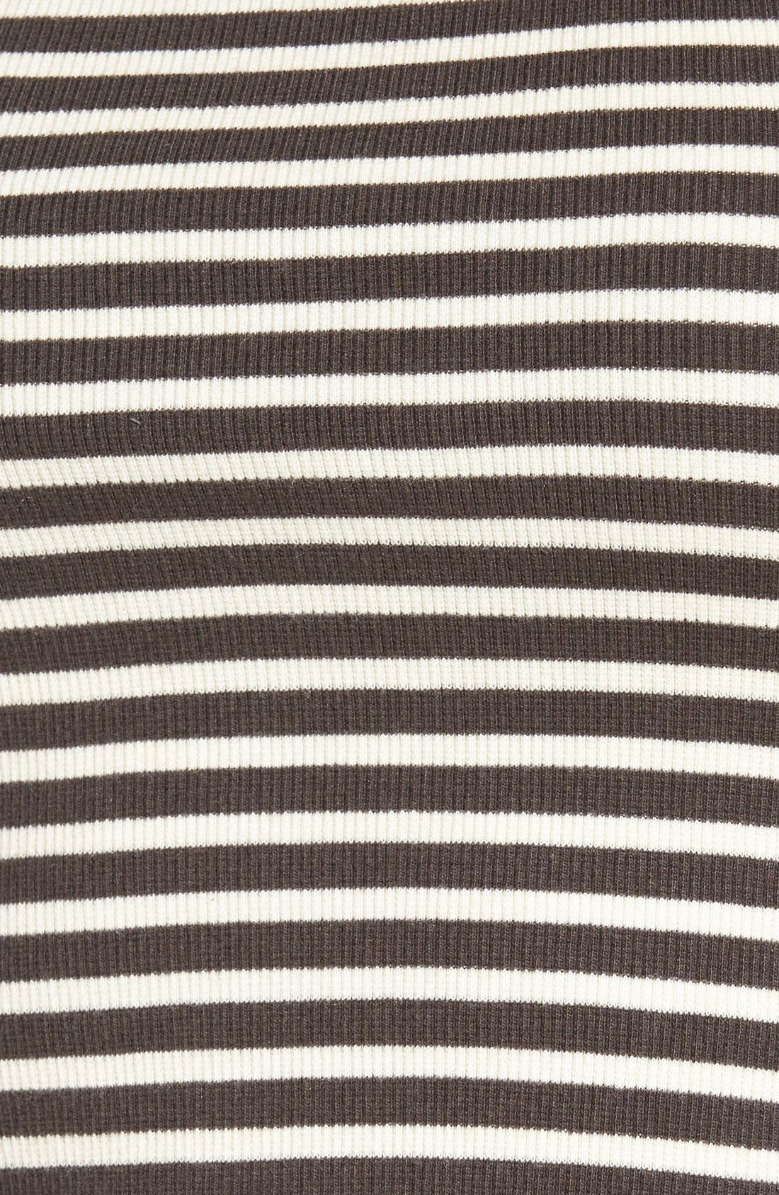 Alternate Image 5  - Billabong 'For Real' Stripe Crop Top