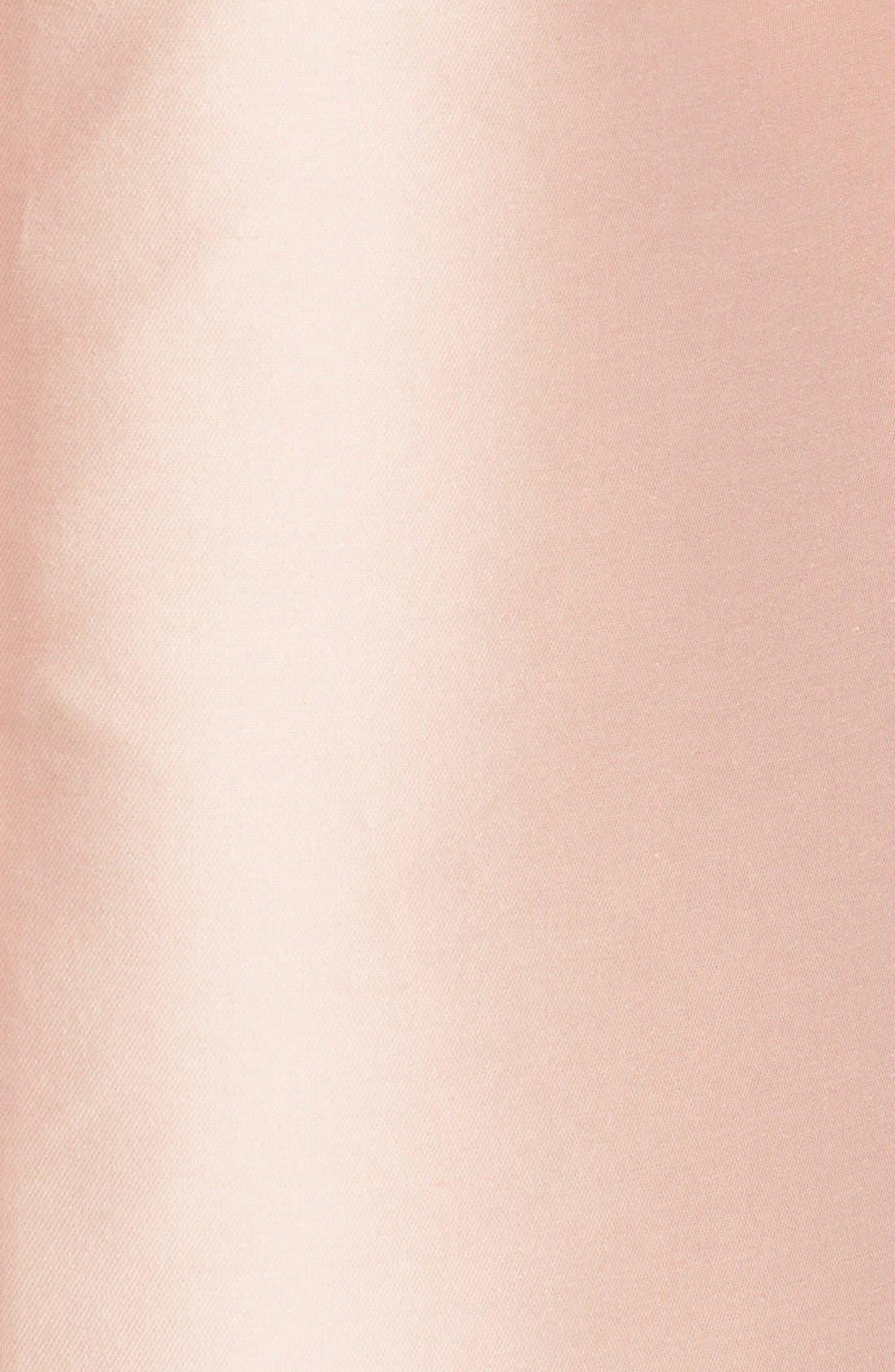 Alternate Image 3  - Stella McCartney Floral Embroidered Satin Shift Dress