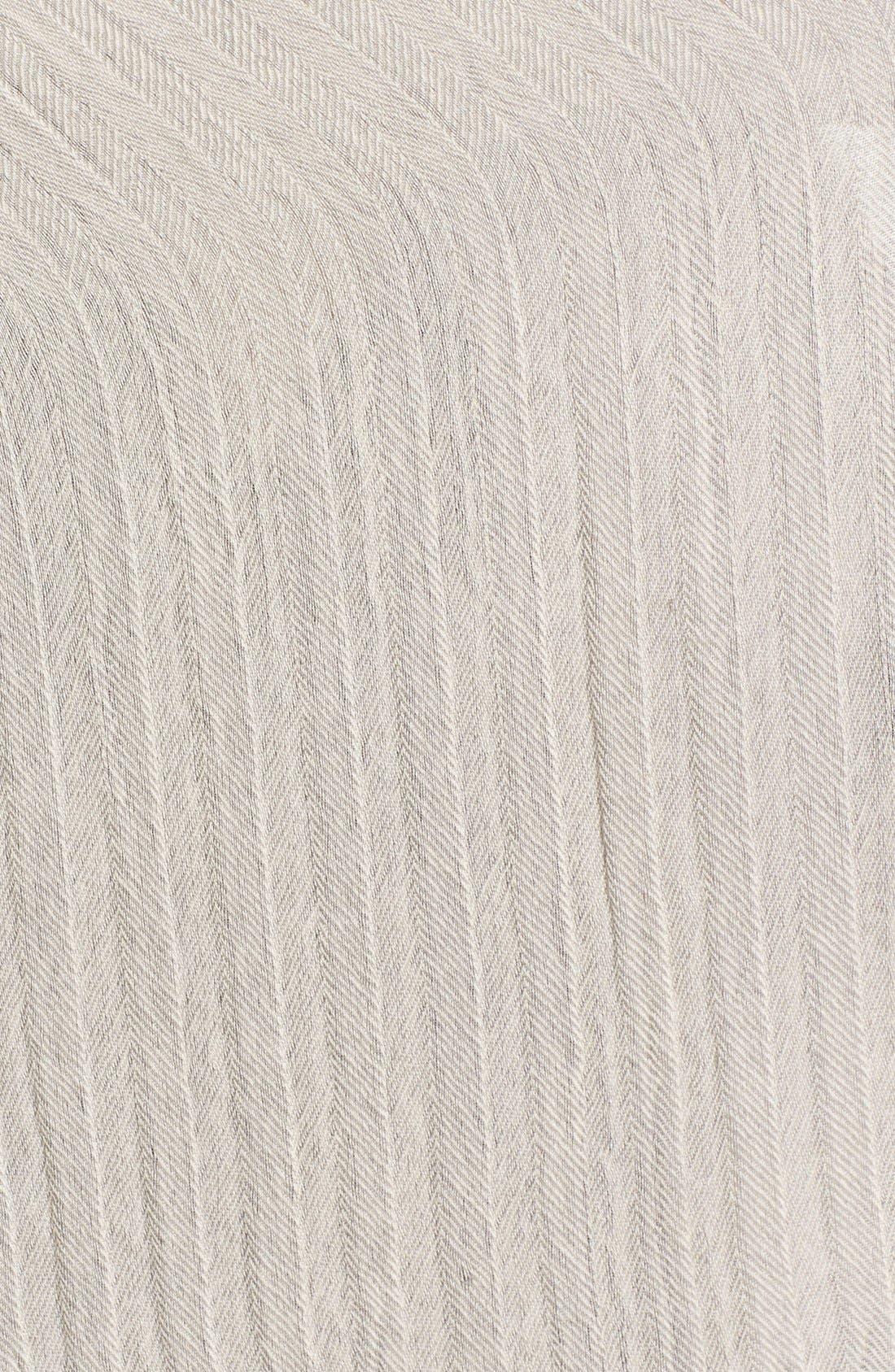 Alternate Image 3  - Caslon® Textured Wool Wrap Scarf