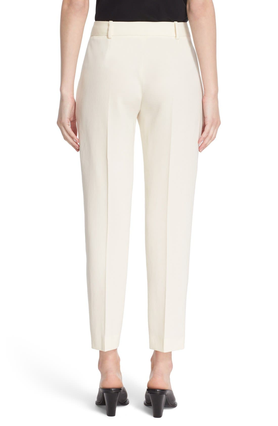 Alternate Image 2  - Stella McCartney 'Octavia' Crop Wool Trousers