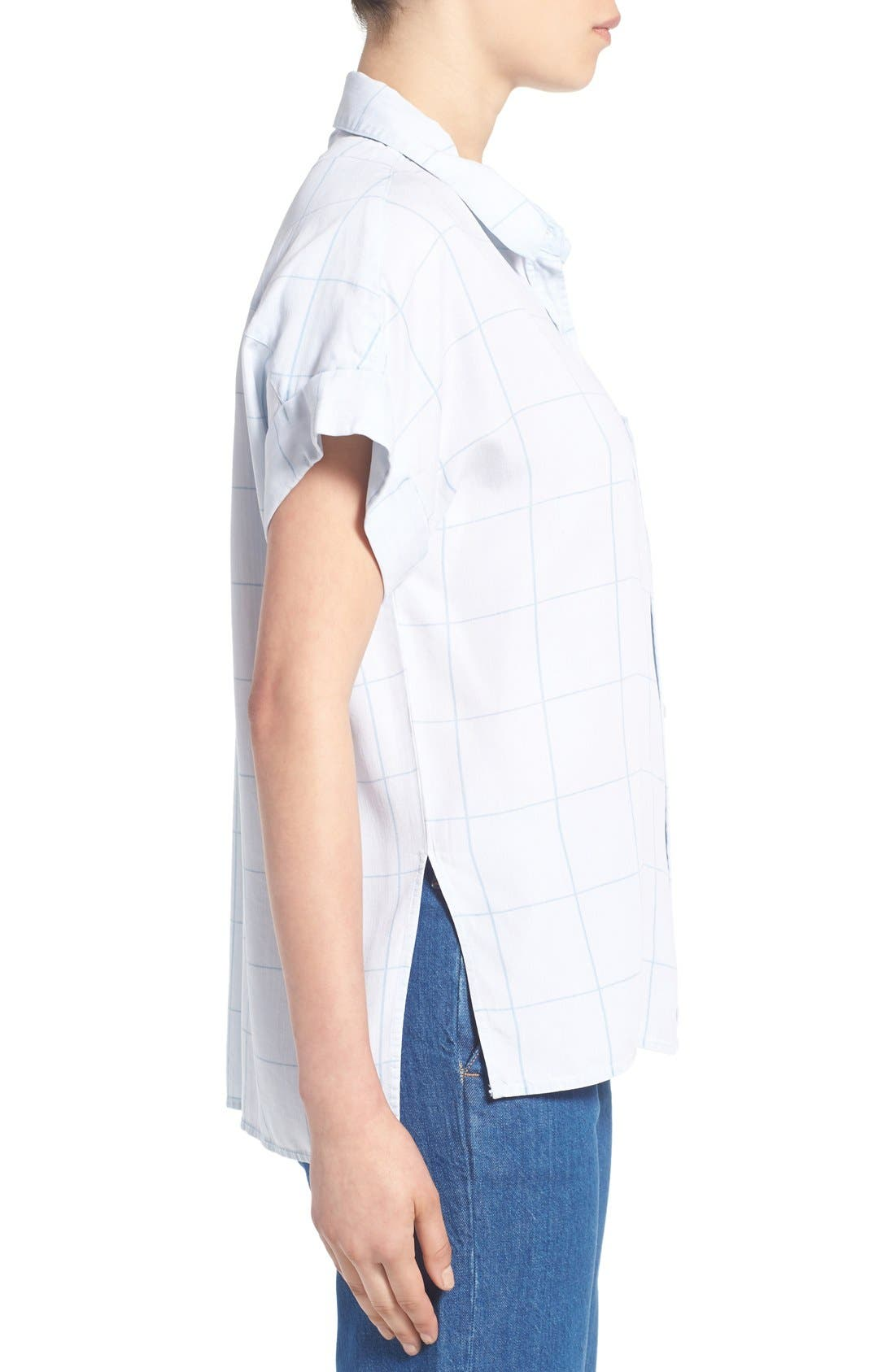 Alternate Image 3  - Rails 'Whitney' Windowpane Print Top