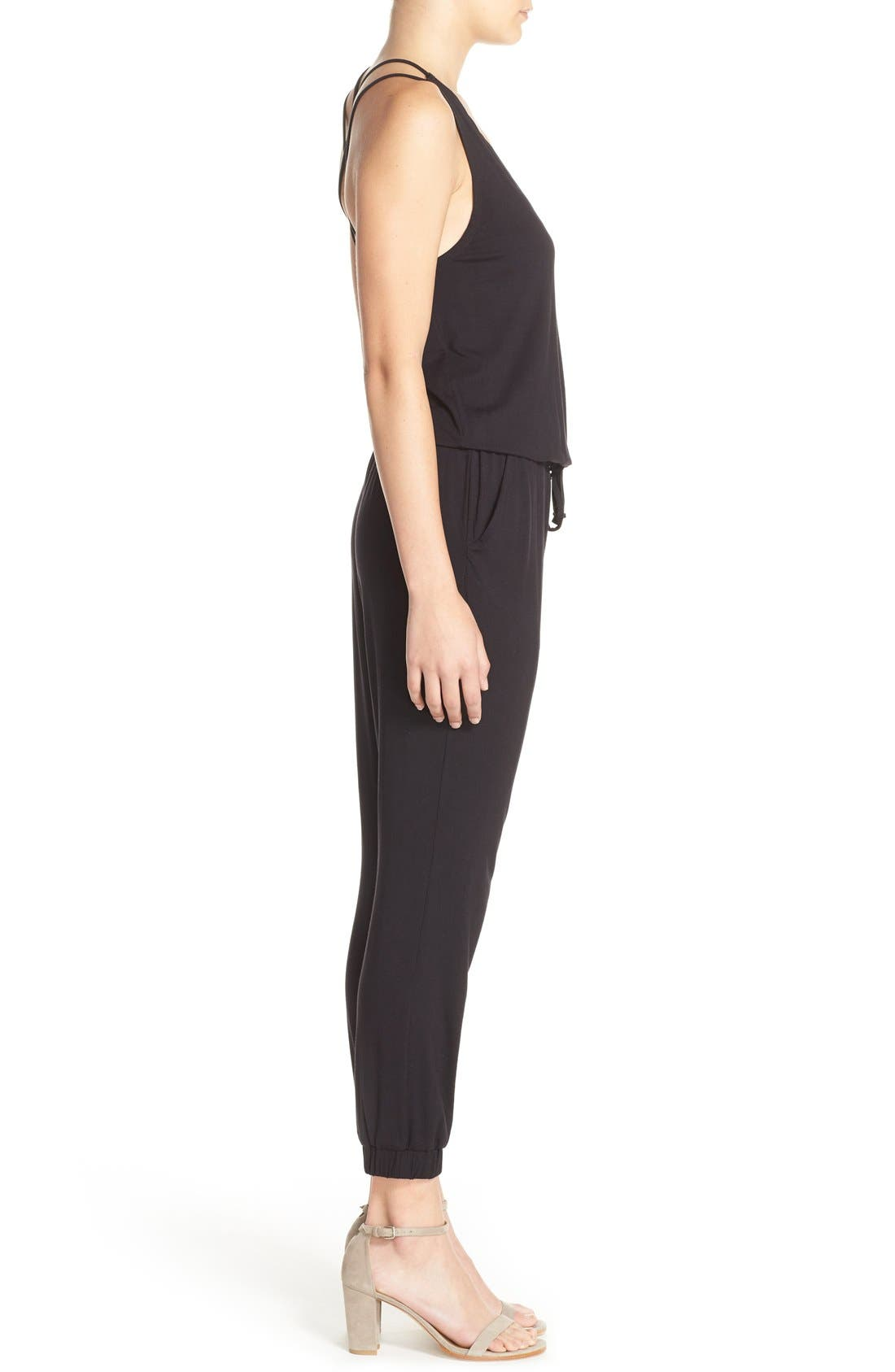 Alternate Image 3  - BB Dakota 'Milligan' Sleeveless Jumpsuit