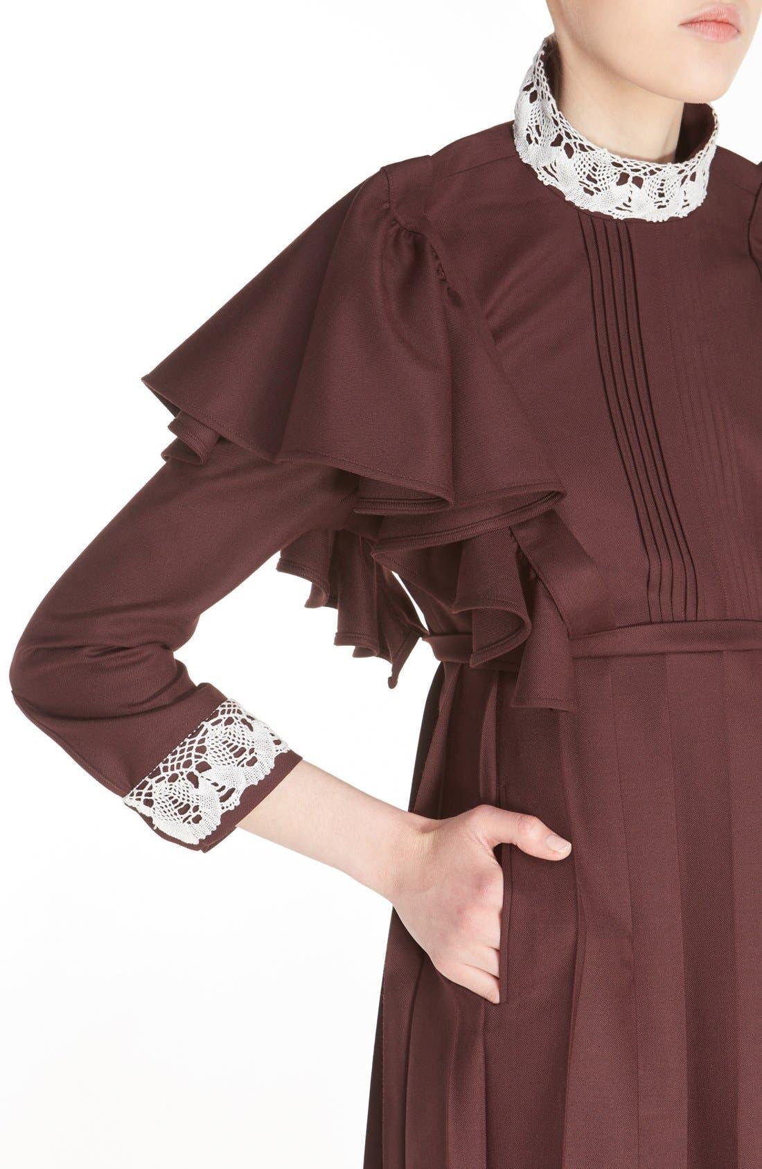 Alternate Image 5  - Vetements 'Schoolgirl' Lace Trim Minidress