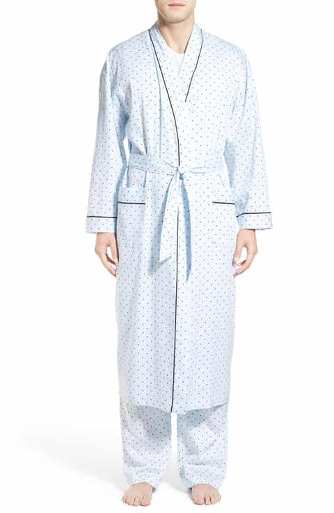 Majestic International 'Twilight Blue' Cotton Robe