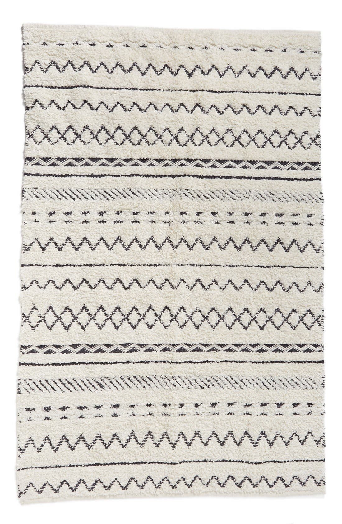 Alternate Image 3  - Nordstrom at Home 'Diamond' Hand Tufted Cotton Rug