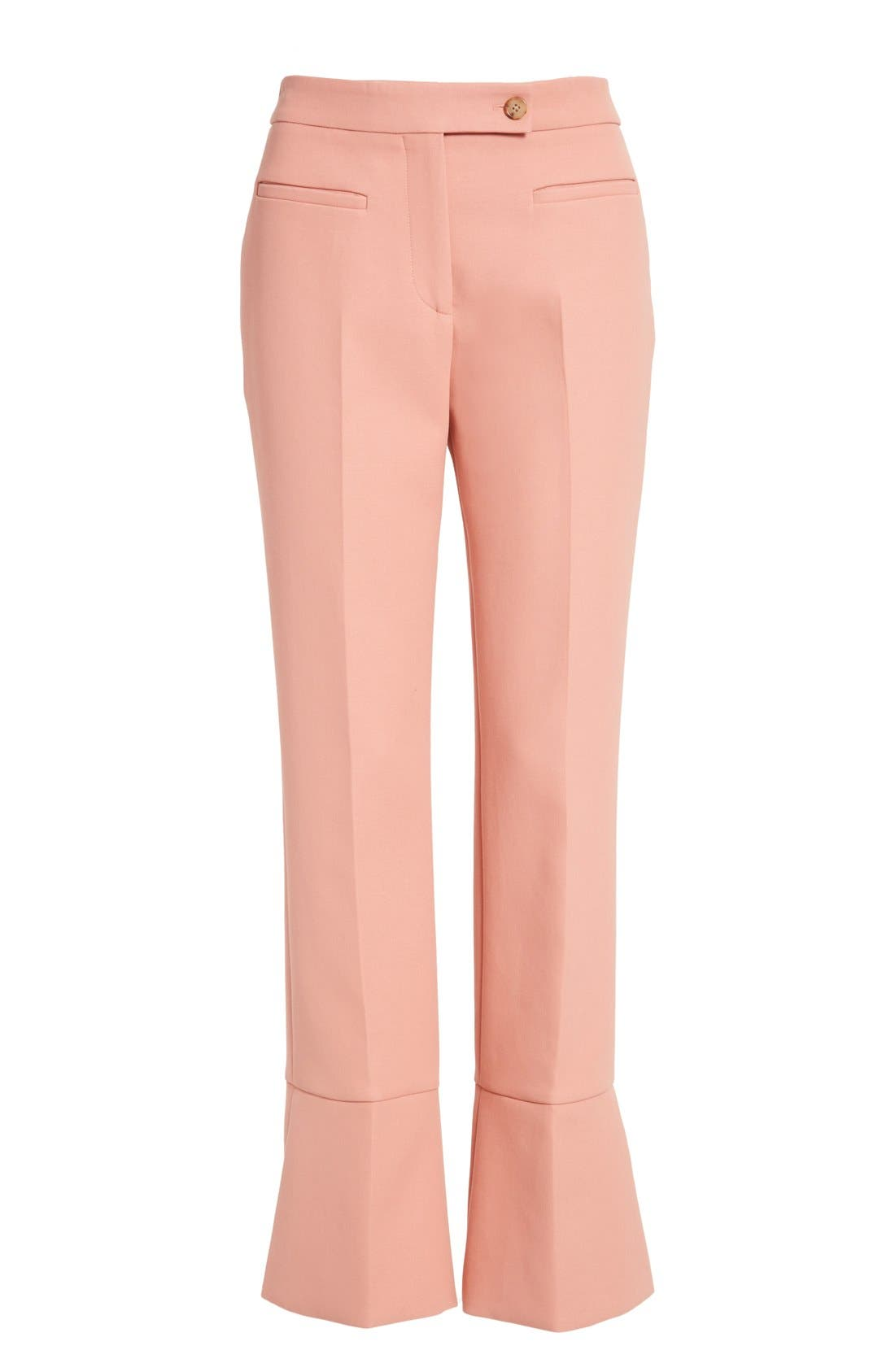 Alternate Image 4  - Fendi Trumpet Hem Crop Cotton Pants