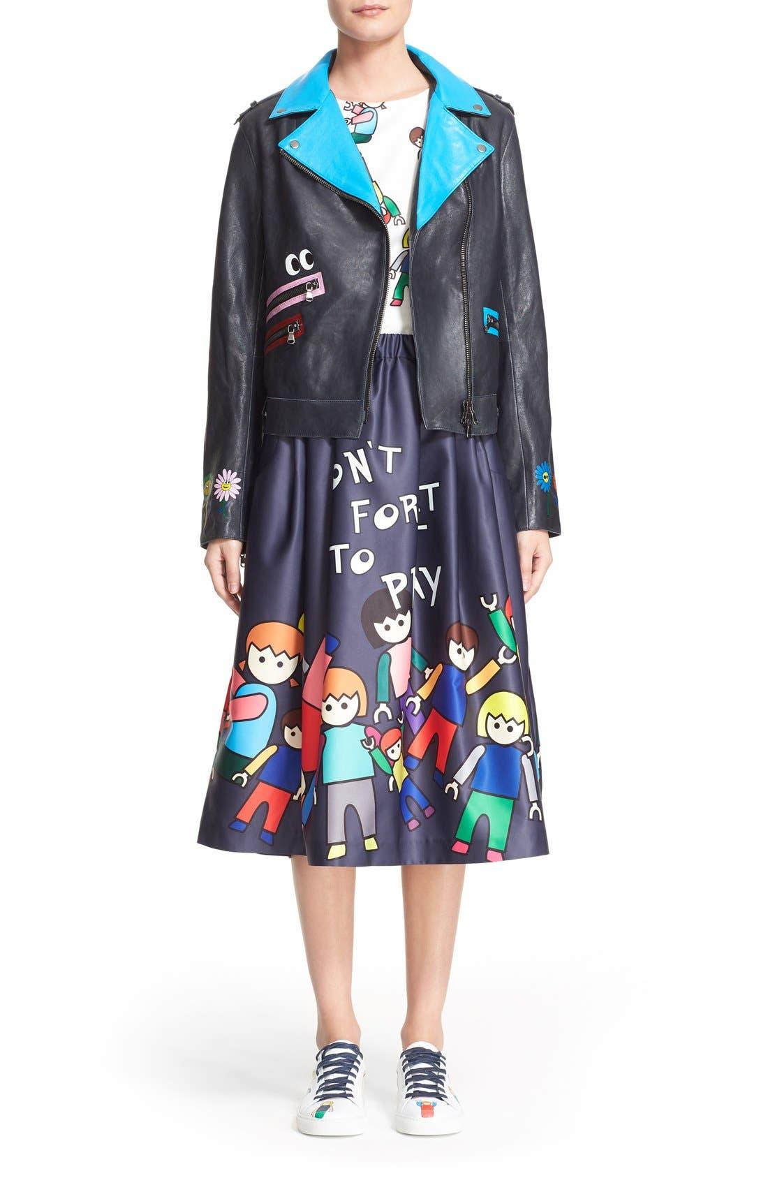 Alternate Image 7  - Mira Mikati 'Little People' Skirt (Nordstrom Exclusive)