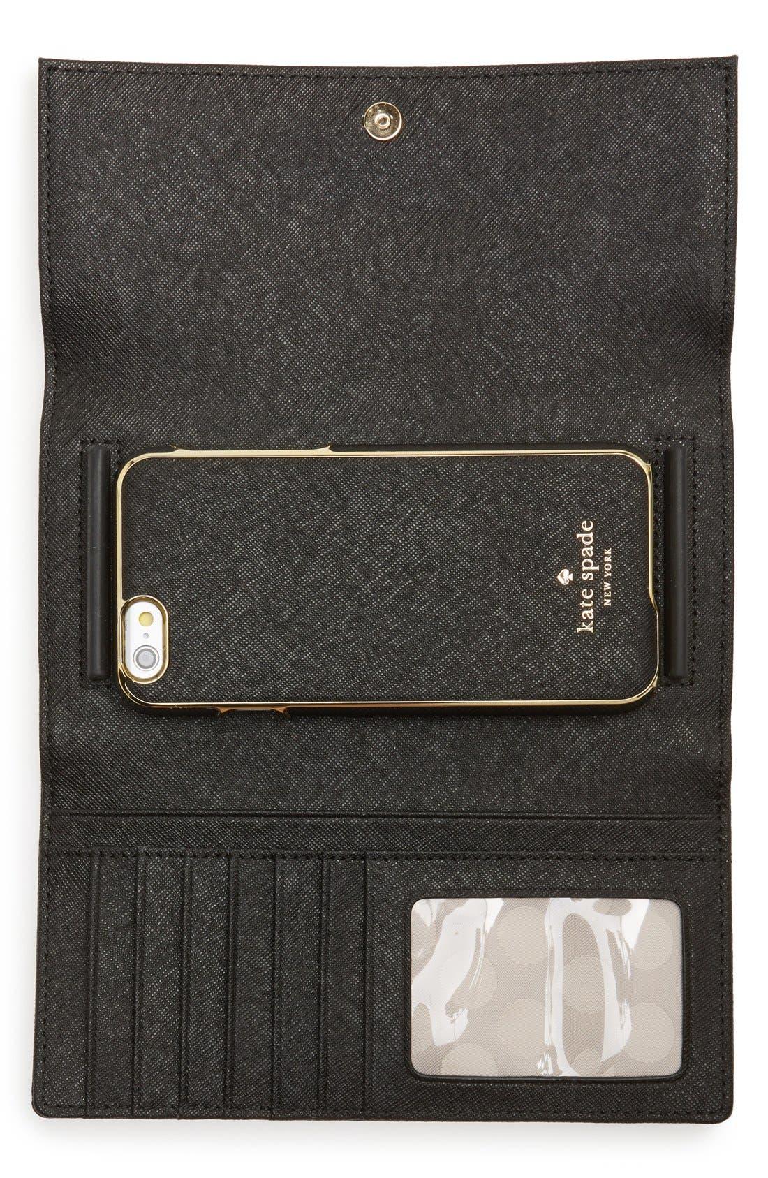 Alternate Image 2  - kate spade new york iPhone 6/6s wallet