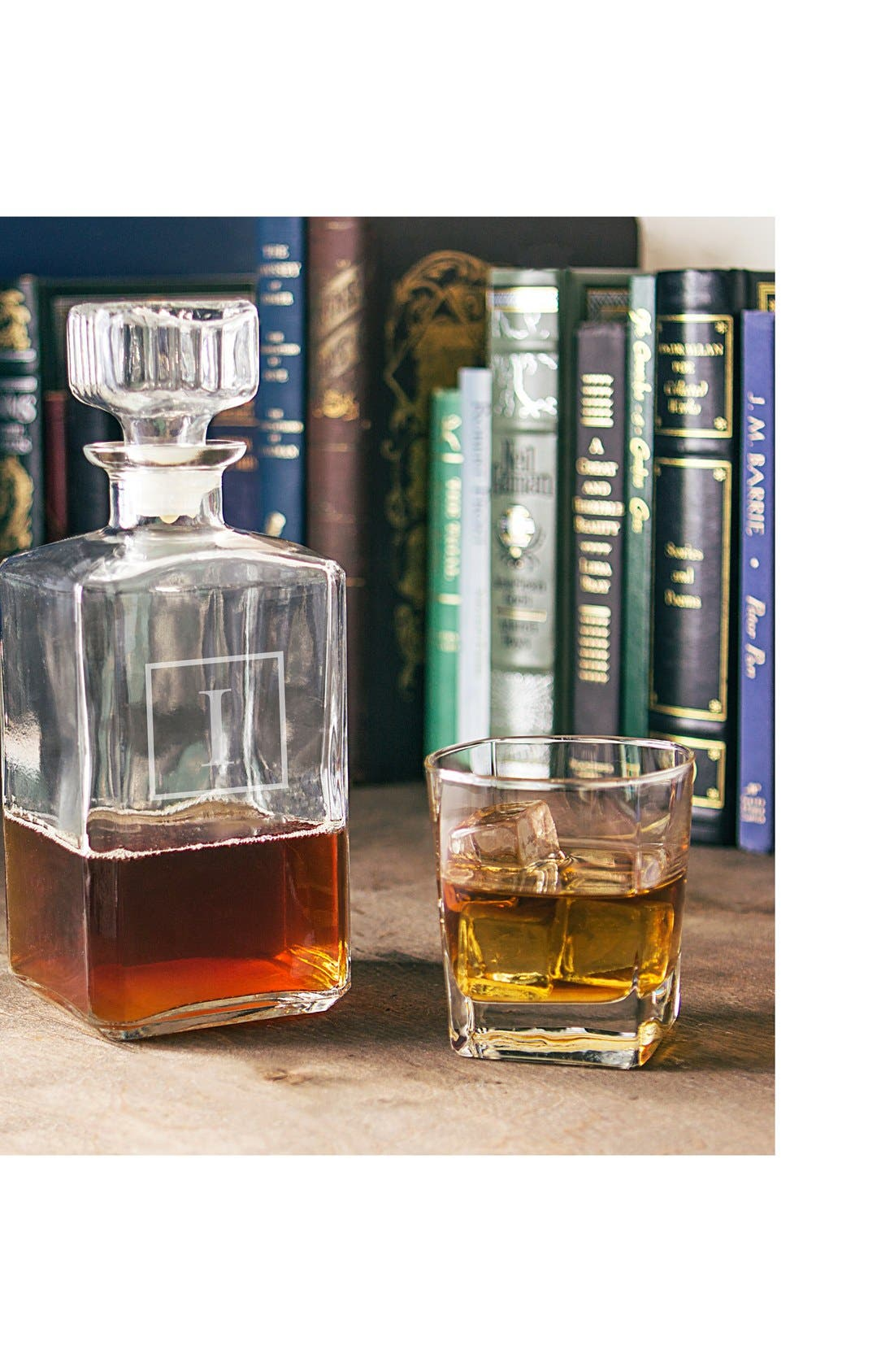 CATHY'S CONCEPTS Monogram Spirits Decanter