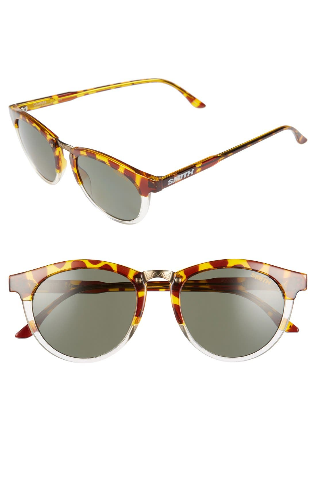 SMITH 'Questa' 49mm Polarized Sunglasses