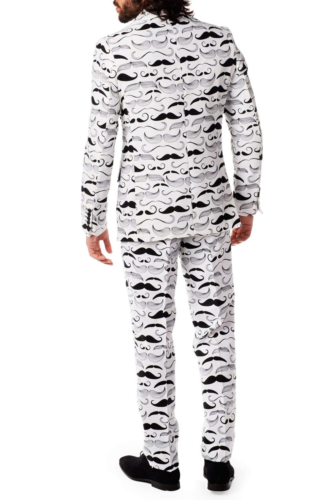 Alternate Image 2  - OppoSuits 'Tashtastic' Trim Fit Two-Piece Suit with Tie