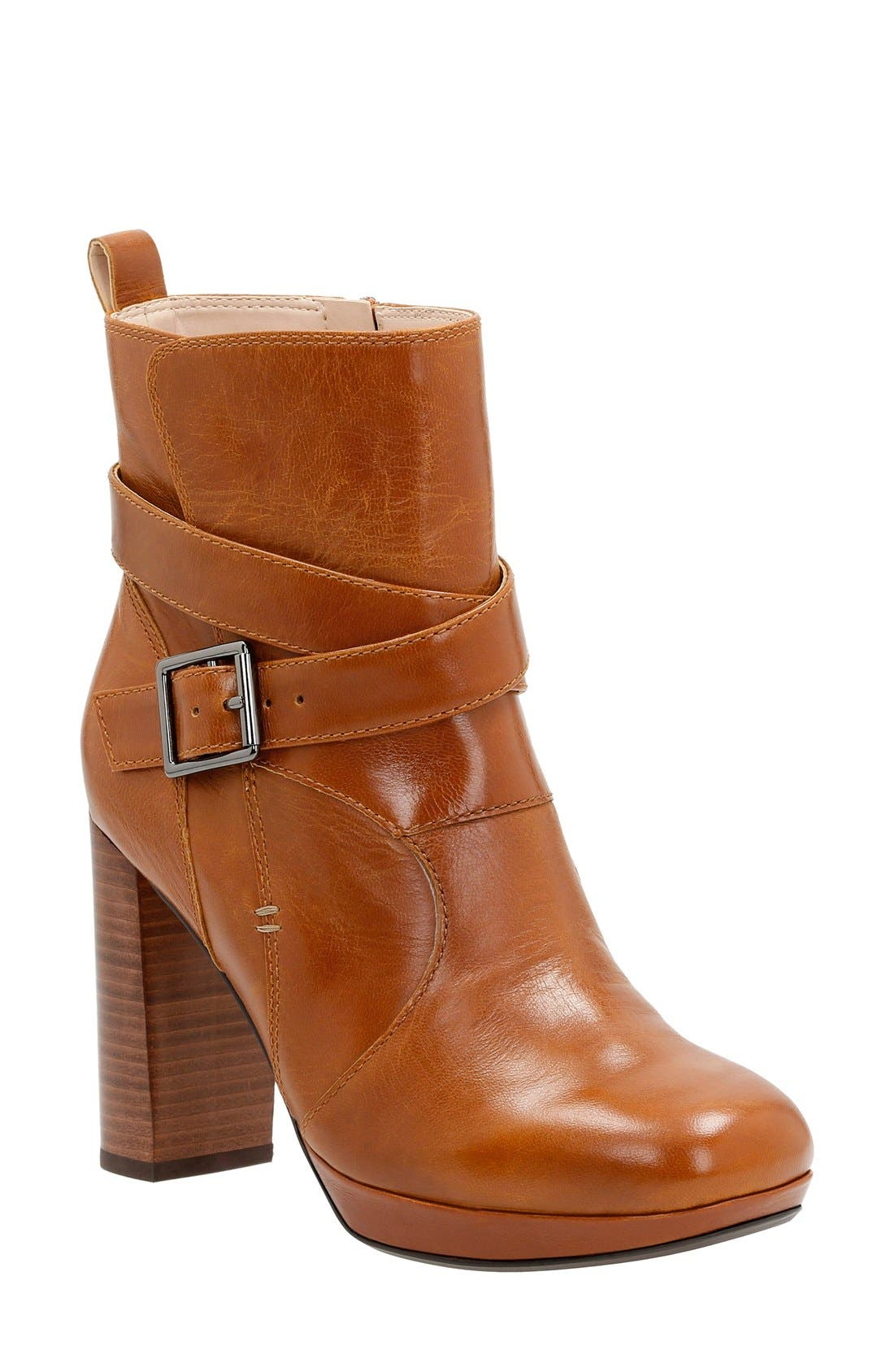 Clarks® 'Gabriel Mix' Moto Boot (Women)