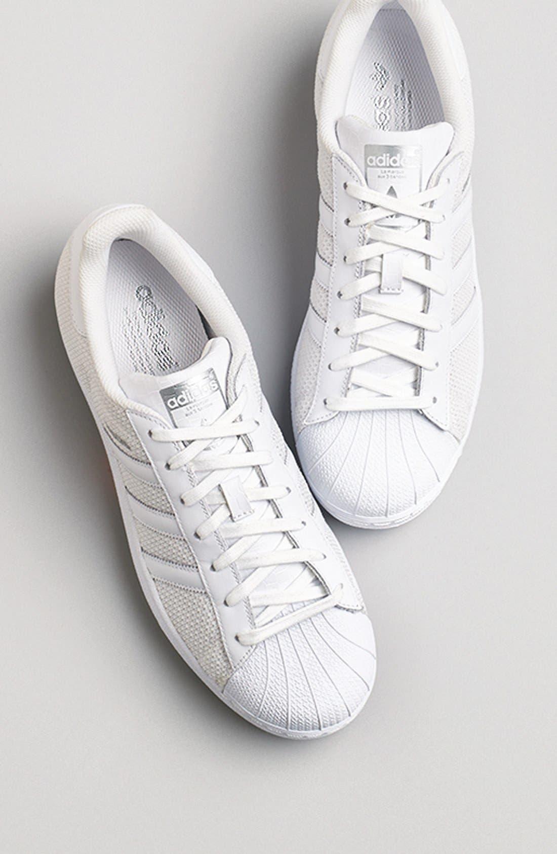 Alternate Image 5  - adidas 'Superstar' Mesh Sneaker (Women)