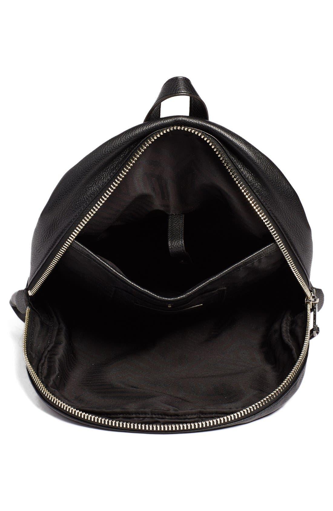 Alternate Image 4  - Rebecca Minkoff 'Always On Regan' Leather Backpack