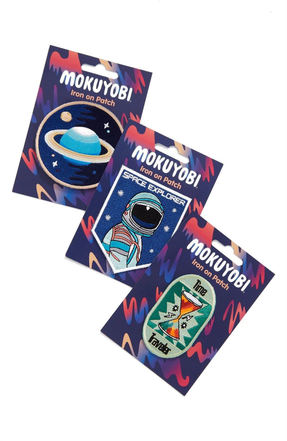 Alternate Image 2  - Mokuyobi 'Space Traveler' Iron-On Patches (Set of 3)