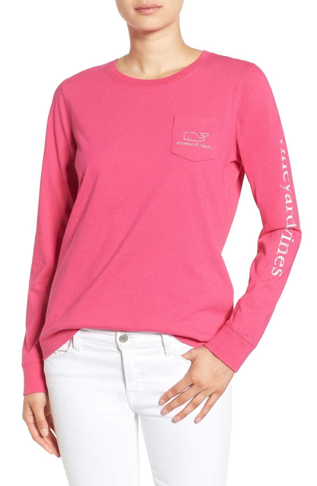 Main Image - Vineyard Vines Whale Graphic Long Sleeve Tee