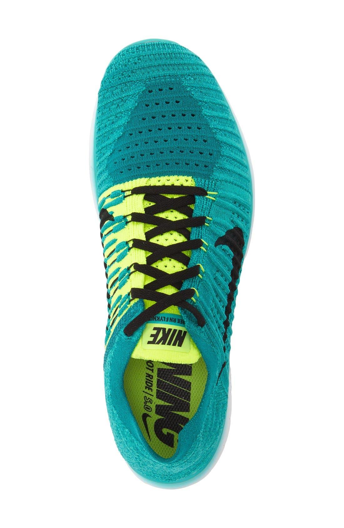 Alternate Image 3  - Nike 'Free Run Flyknit' Running Shoe (Men)