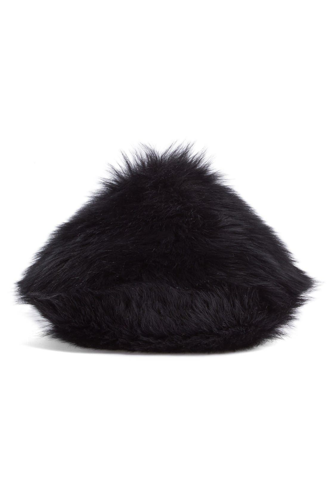 Alternate Image 6  - Simone Rocha Genuine Shearling Puff Clutch