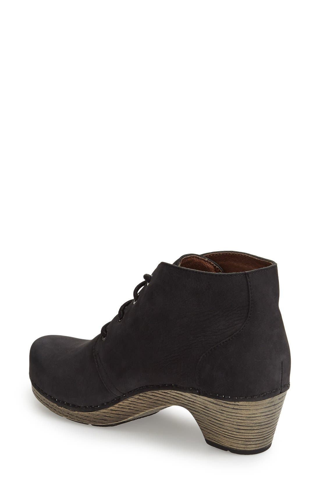 Alternate Image 2  - Dansko 'Meena' Lace-Up Bootie (Women)