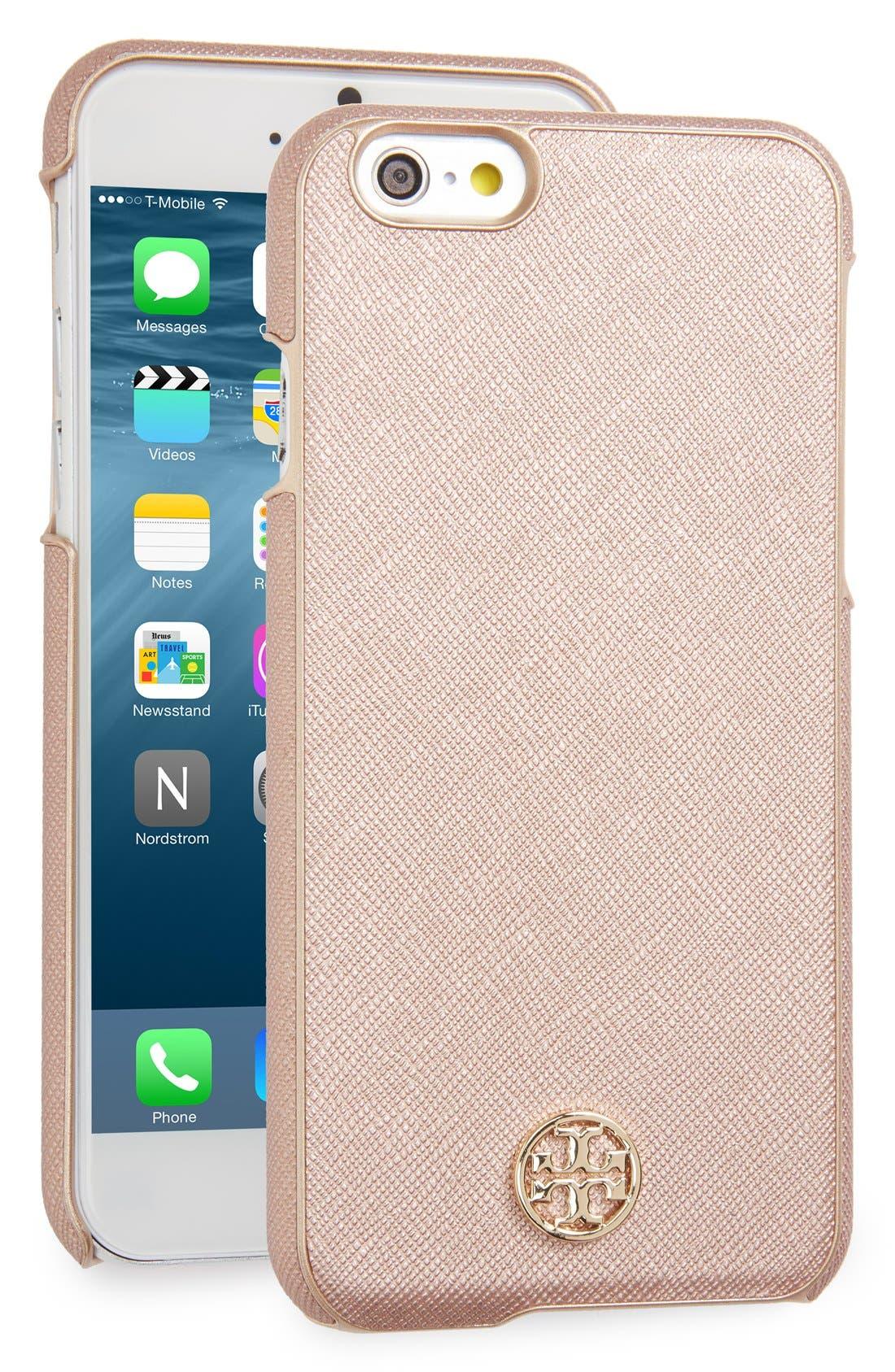 Main Image - Tory Burch Robinson iPhone 6/6s Case