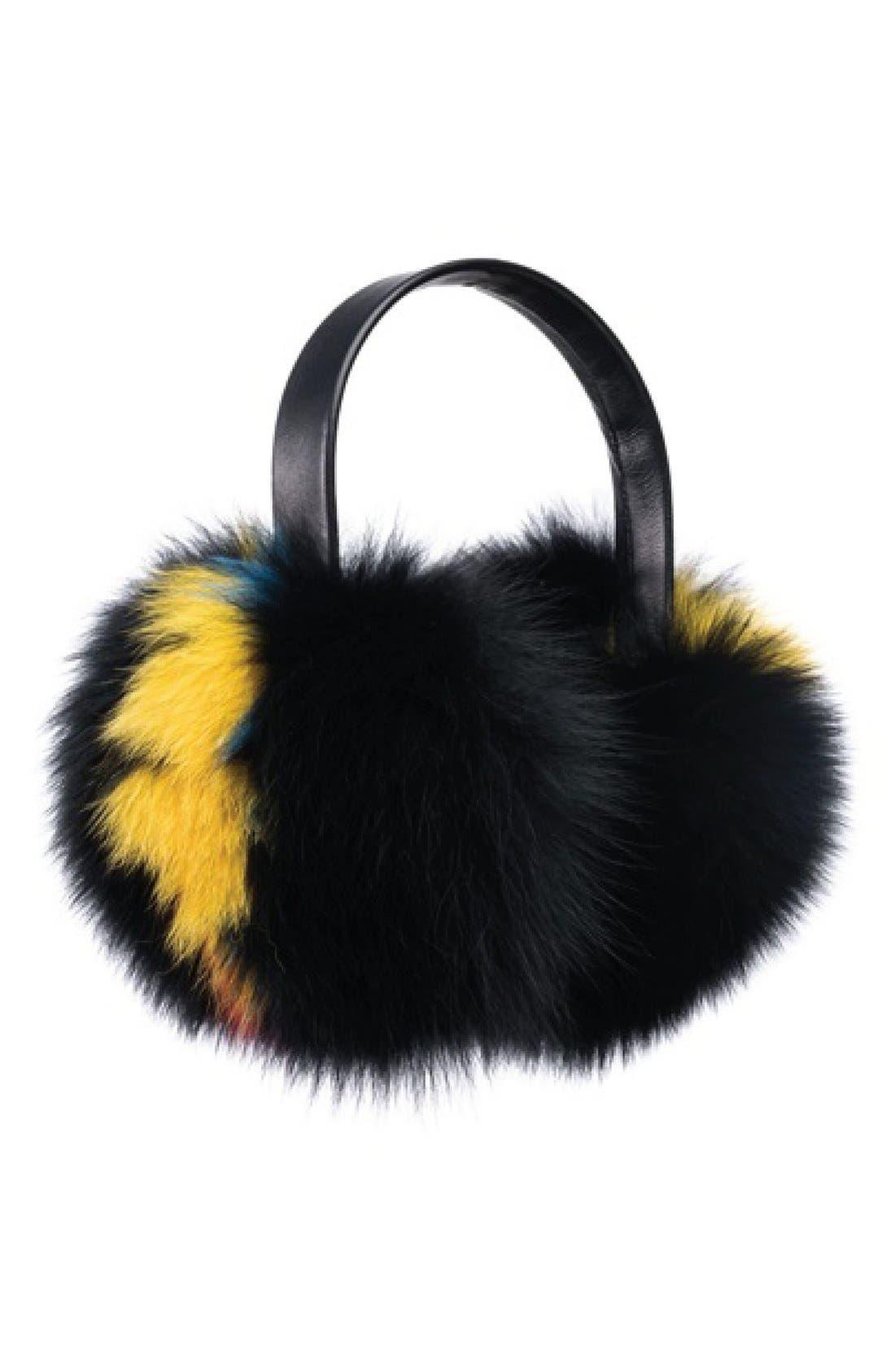 Alternate Image 2  - Eugenia Kim 'Janine' Genuine Fox Fur Earmuffs
