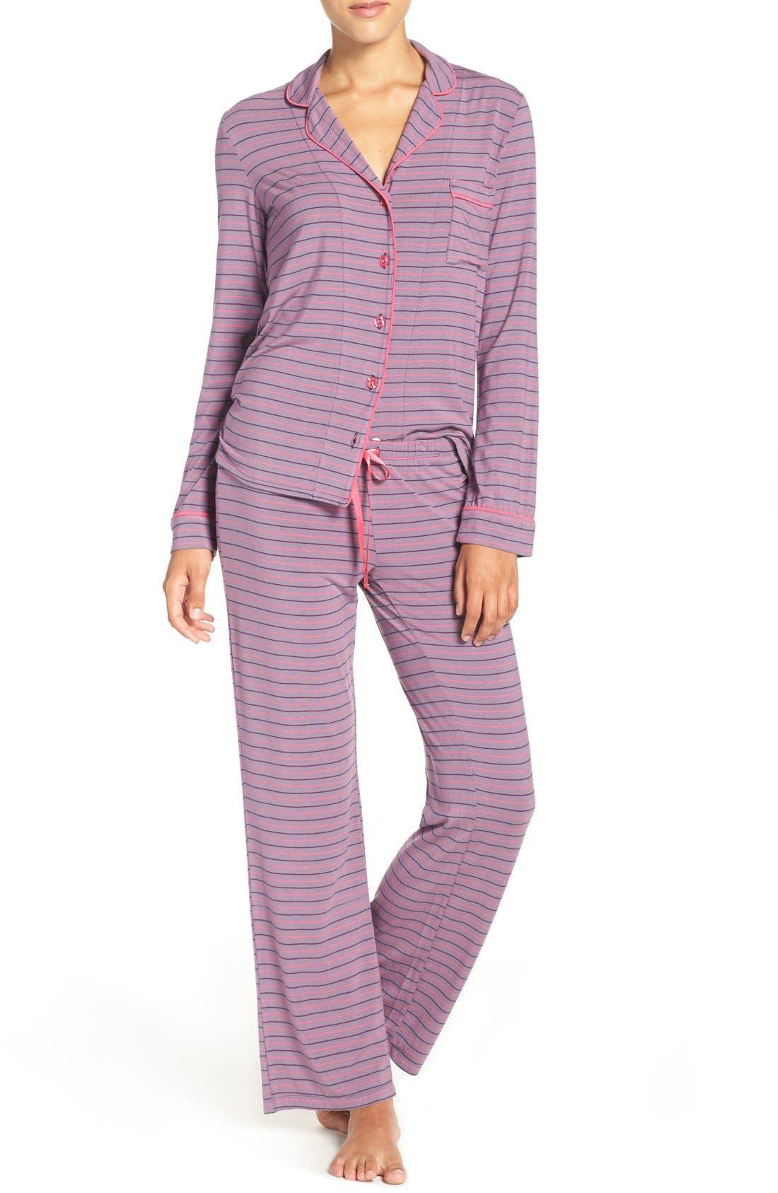 Main Image - PJ Salvage Stretch Modal Pajamas